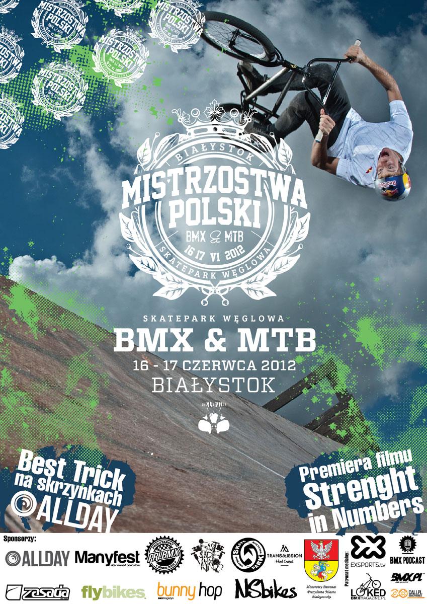 Mistrzostwa Polski BMX i MTB 2012 Skatepark Węglowa Białystok