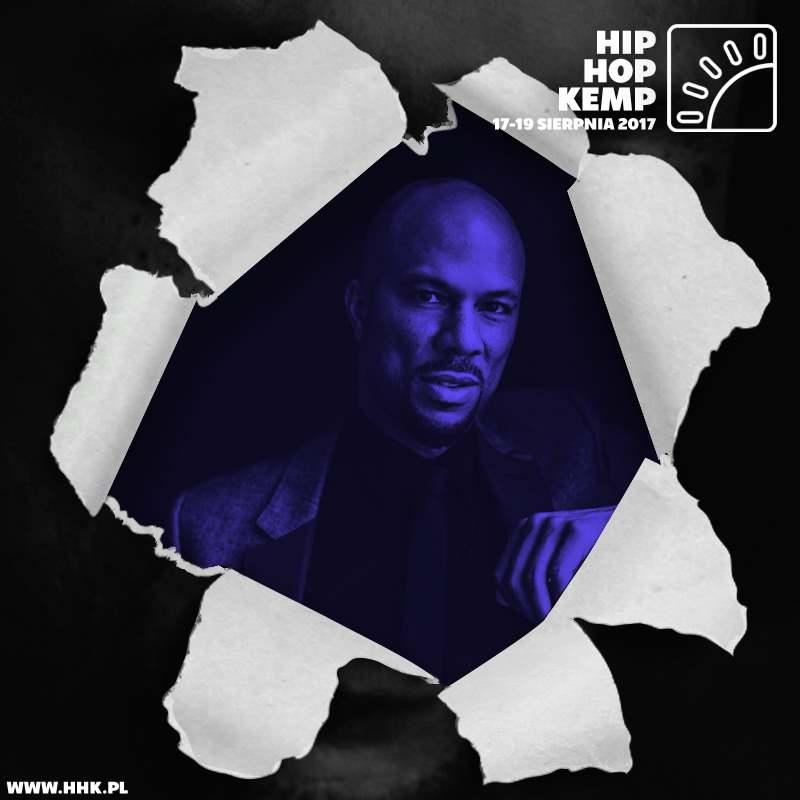 Hip Hop Kemp 2017 - Common headlinerem