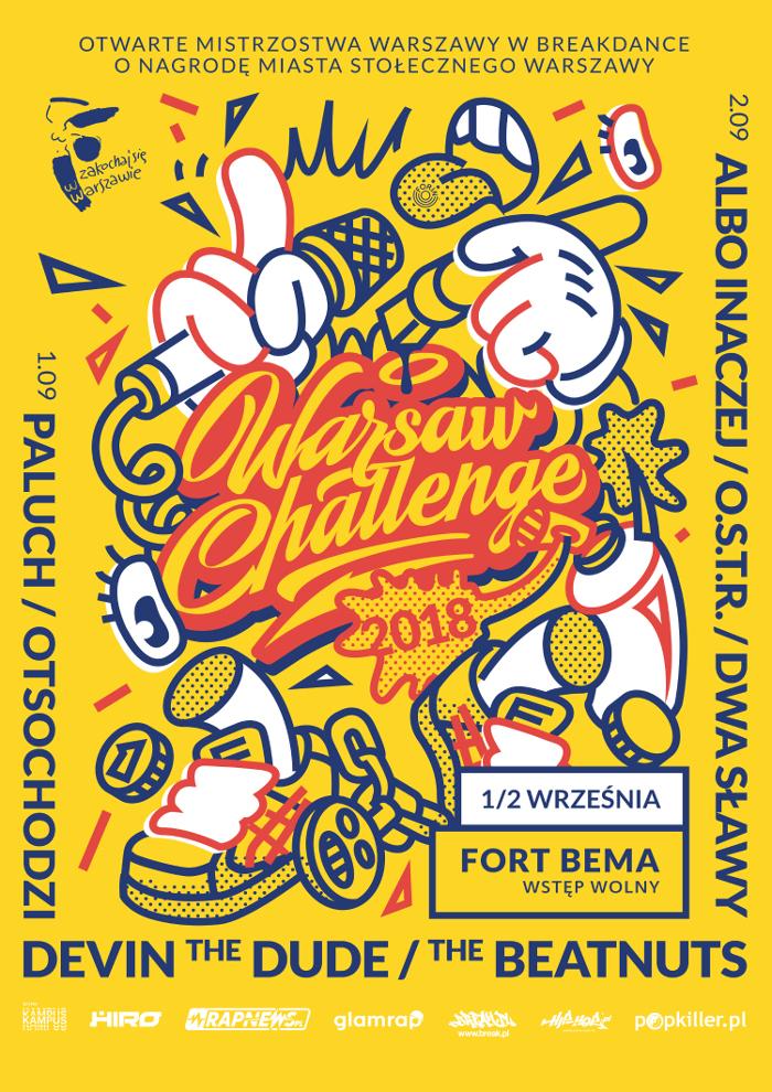 Warsaw Challenge 2018 – święto hip-hopu powraca do Fortu Bema