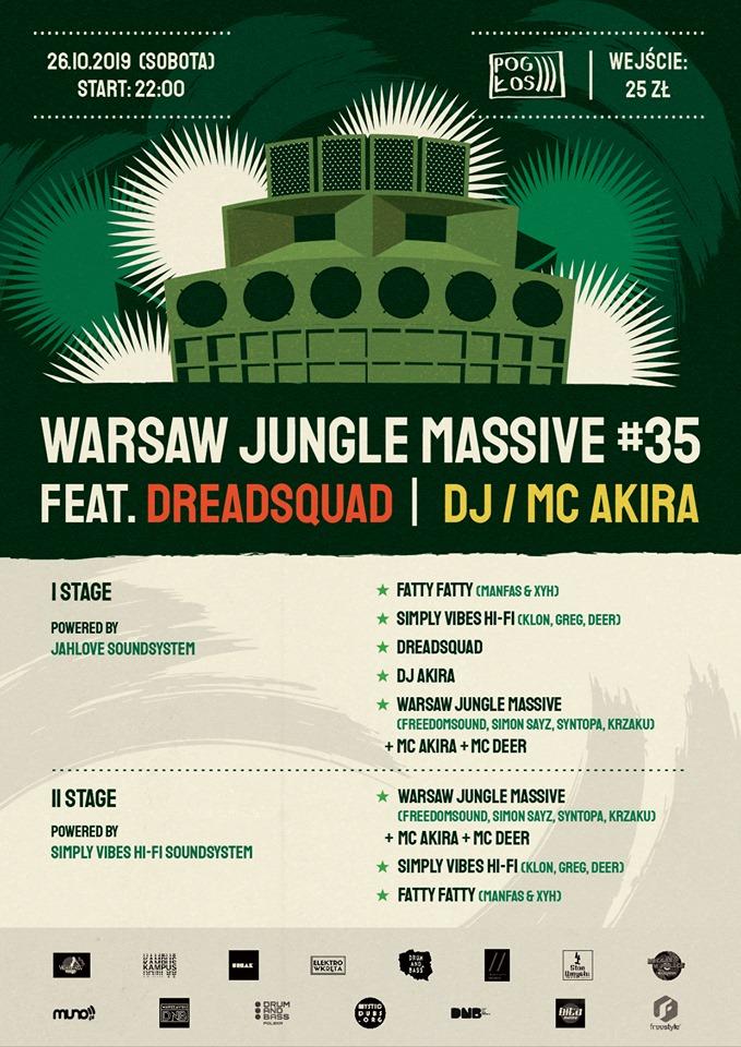 Warsaw Jungle Massive #35 - II Sceny x II Soundsystemy
