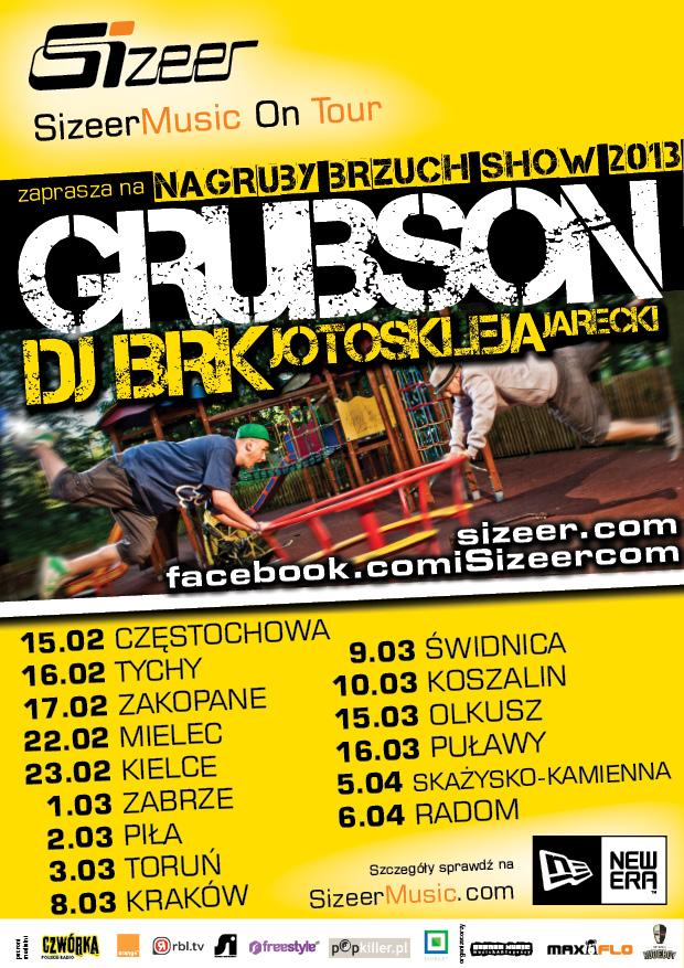 Gruby Brzuch Sizeer Music on Tour