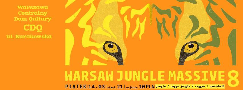 Warsaw Jungle Massive 8 - MC's Edition feat. MadMajk vs Difel jungle, ragga jungle, reggae, dancehall