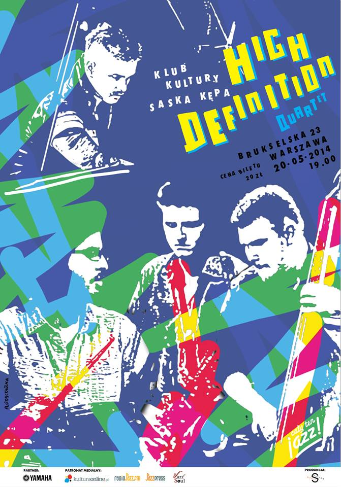 CAŁY TEN JAZZ! Meet! High Definition Quartet