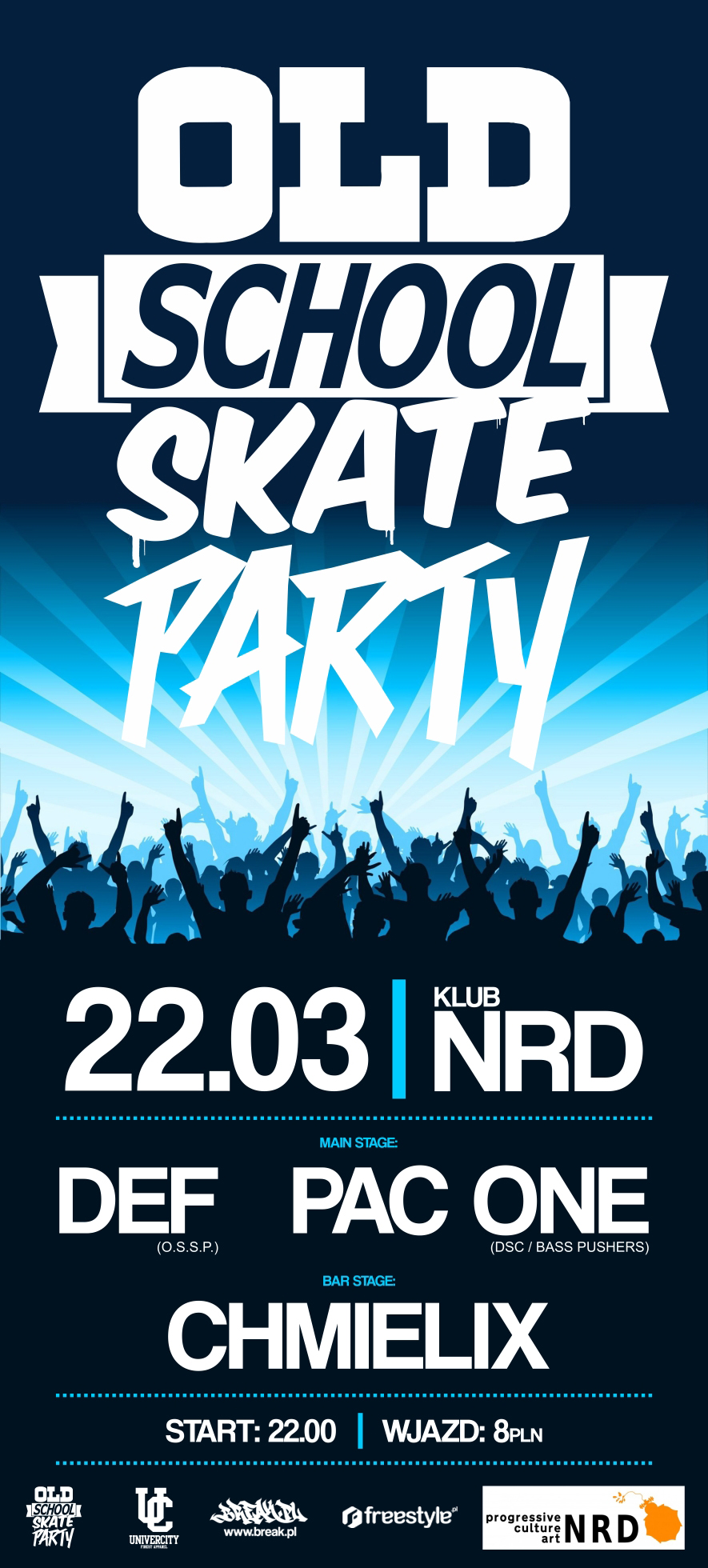 Old School Skate Party NRD Toruń