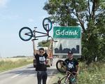 Ekipa BMXem przez Polskę dojeżdża do Gdańska