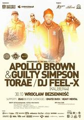 Apollo Brown & Guilty Simpson we Wrocławiu
