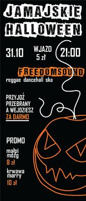 Jamajskie Halloween w Black Sheep * FREEDOMSOUND