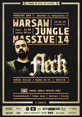 Warsaw Jungle Massive 14 feat. FleCK (Serial Killaz / Kings Hi Fi) Warszawa Parking Bar 14.03.2015