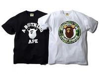 Medicom Toy + A Bathing Ape Bearbrick T-Shirts