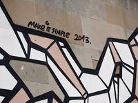 MAKE IT SIMPLE / SREET ART DOPING 2013