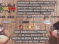 24.08.2014 Warszawa / SHO DANCEHALL PIKNIK - Jedyny i wyjątkowy dzień z dancehallem nad Wisłą