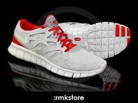 Nike Free Run 2 Wolf Grey/Chilling Red