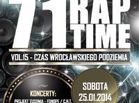 71RapTime vol.15 - Czas Wrocławskiego Podziemia