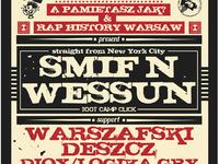 APJ x RHW present SMIF'N'WESSUN | WFD | DIOX