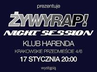 ŻywyRap Night Session w Harendzie