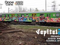 1.06 Warszawa: Capital2 + DOPE Cans graffiti jam