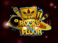 adidas Originals Rocks The Floor