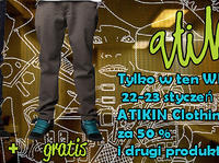 Atikin Clothing | boardSTORE.pl | SNOWBOARD | ROLKI INLINE SKATES | WINDSURFING | NARTY FREESKI | SKATEBOARD