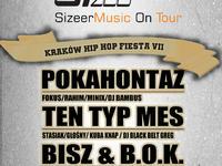 Kraków Hip Hop Fiesta VII //Bisz & B.O.K. Liveband/Pokahontaz/Ten Typ Mes & Lepsze Żbiki//