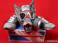 Nice Kicks + New Balance 1500 Gas Mask