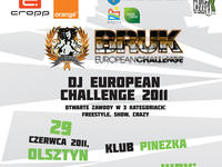 Dj European Challenge w ramach Bruk Festivalu 2011
