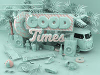 SoDrumatic feat. Wozz Lozowski - Good Times (Flirtini Remix)