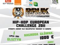 Hip-Hop European Challenge w ramach Bruk Festivalu 2011