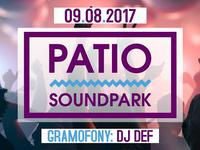 PATIO SoundPark X DJ DEF 9.08.17