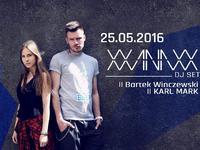 XXANAXX /DJ set Michał Wasilewski /vocal Klaudia Szafrańska /Lake Park Wilanów
