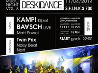 DESKIDANCE Music Night vol.8