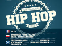 DE2S - INTERNATIONAL HIP-HOP FEST ABERDEEN & GLASGOW