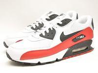 Nike Air Max 90 White/Sport Red/Black