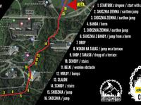 Mapa Doka Downhill City Tour