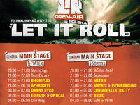 Line Up Festiwalu Let It Roll