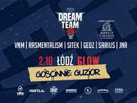 Guzior gościnnie na Dream Team Tour
