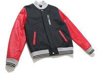 Nike Sportswear NSW Destroyer Jacket Grey/ Red