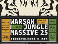 Warsaw Jungle Massive 25 | FreedomSound B-Day