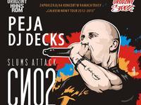 Koncert Slums Attack - trasa Całkiem Nowy Tour 2013 - Radom