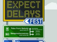 EXPECT DELAYS FEST 2015