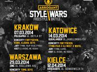 Eliminacje Arrogant Style Wars Freestyle Battle - Kielce