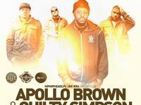 Apollo Brown & Guilty Simpson we Wrocławiu