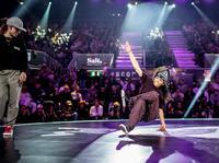 B-Girl battle na światowym finale Red Bull BC One, Zurych 2018