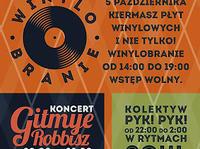 5.10 Warszawa: Winylobranie #4 / koncert Gitmye Robbisz // after: Pyk! Pyk!