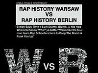 Rap History Warsaw vs Rap History Berlin