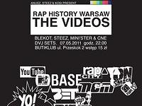 Rap History Warsaw - THE VIDEOS