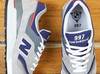 New Balance 997 Grey-Navy