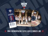 Darmowy singiel Dream Team Tour przy zakupie biletów online!