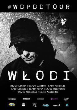 Włodi #wdpddtour Jesień 2017