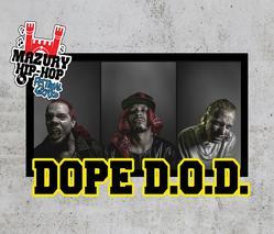 DOPE D.O.D. Headlinerem na Mazury Hip-Hop Festiwalu 2017