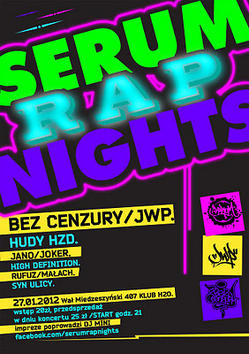 Serum Rap Nights